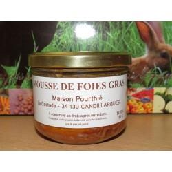 Mousse de foie gras Maison...