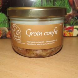 Groin confit artisanal