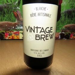 Bière Vintage Brew Blanche