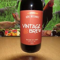 Bière Vintage Brew Ambrée