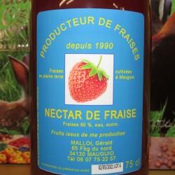 Nectar de fraise